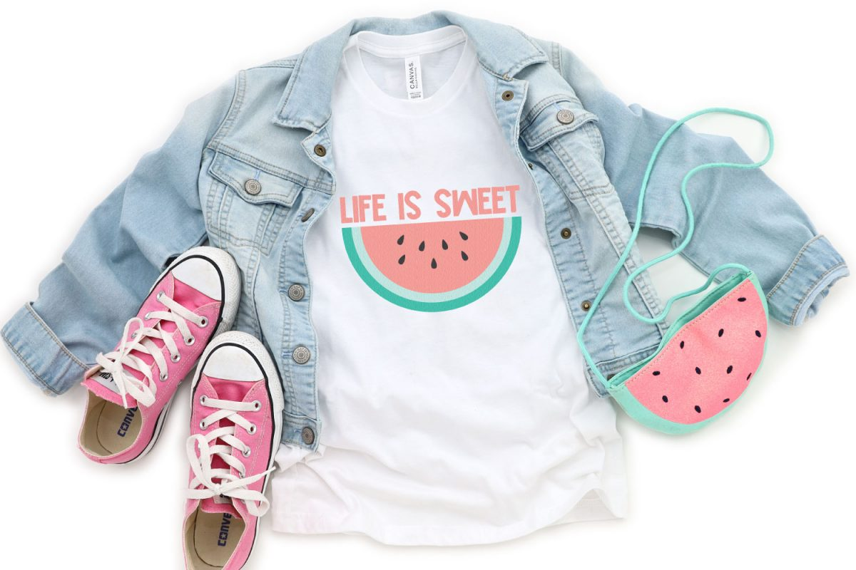Life is Sweet SVG image