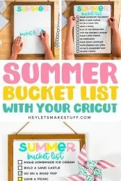 Summer Bucket List pin image