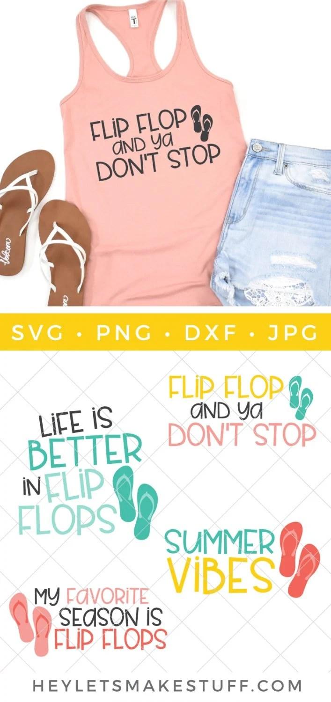 Flip Flop SVG Bundle pin image