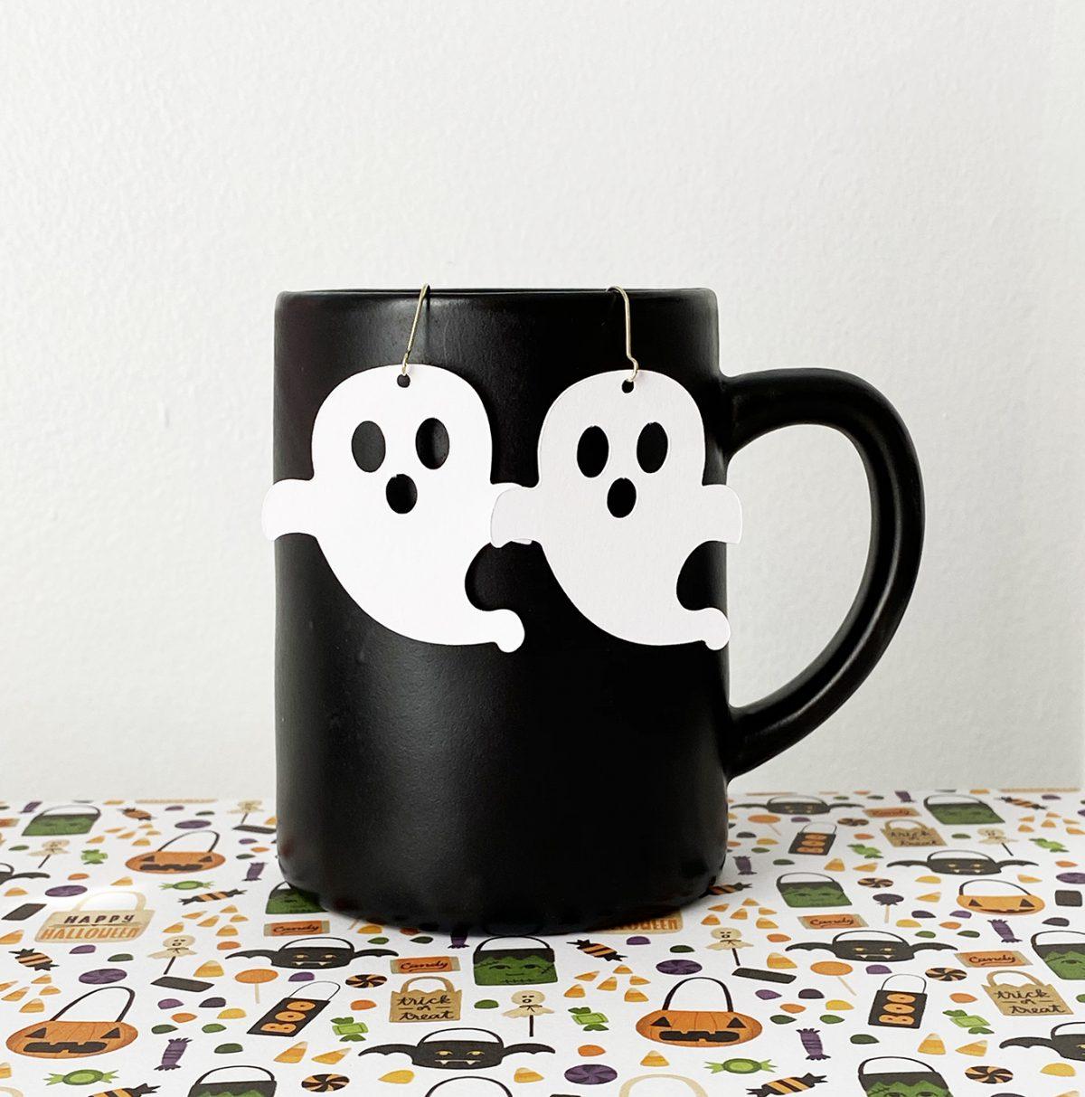 Ghost Earrings - Pineapple Paper Co
