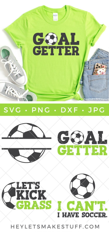 Soccer SVG Bundle pin image