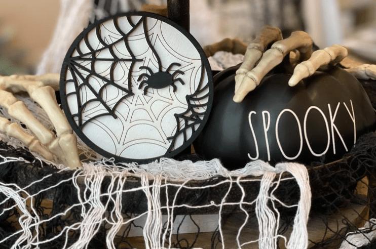 Spider Round - Design Bundles