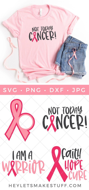 Breast Cancer Awareness SVG bundle pin image