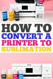 Sublimation Printer Pin #1
