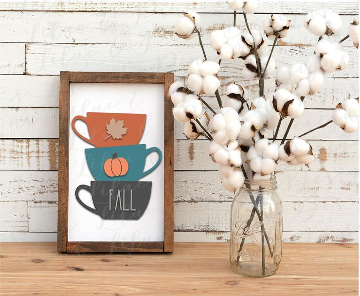 Fall Coffee Design by Lilac and Pine Desings