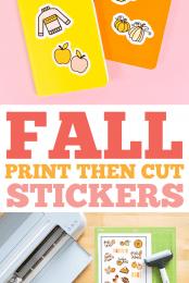 Fall Stickers Pin Image 3