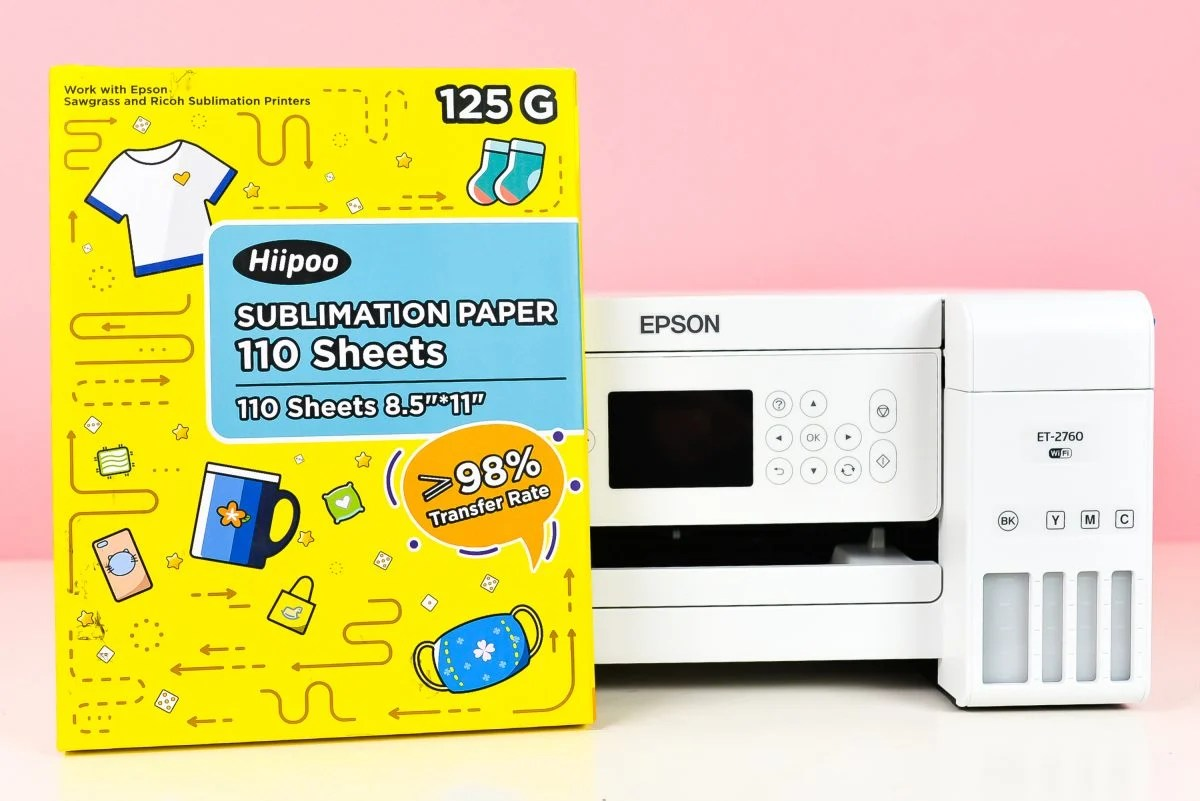 Epson Printer with Hiipoo Sublimation Paper