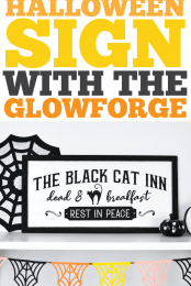 Halloween Sign with the Glowforge Pin Image #3