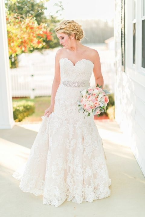 Southern Inspired Wedding Gown Dress