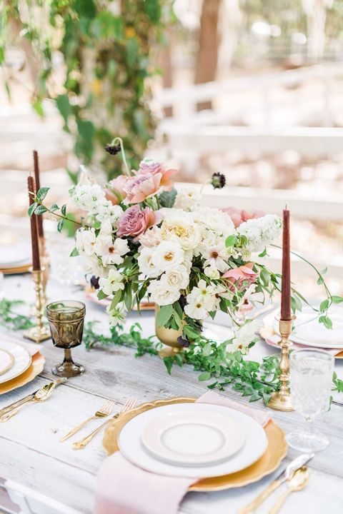 Modern Vintage Wedding Decor