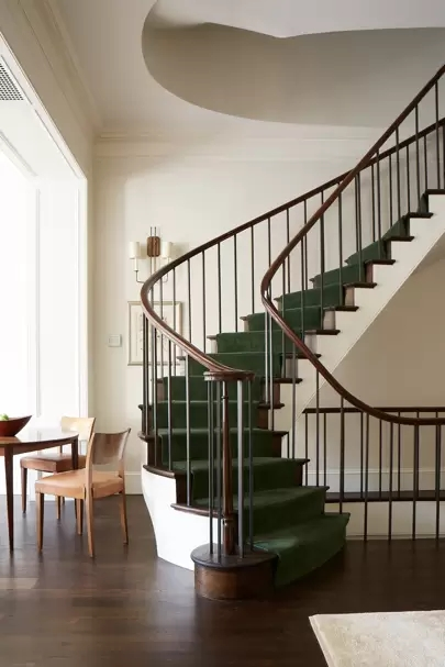 Staircase Ideas House Garden   Carpet Down Middle Of Stairs   Stair Rods   Wood   Hardwood   Steps   Laminate Flooring