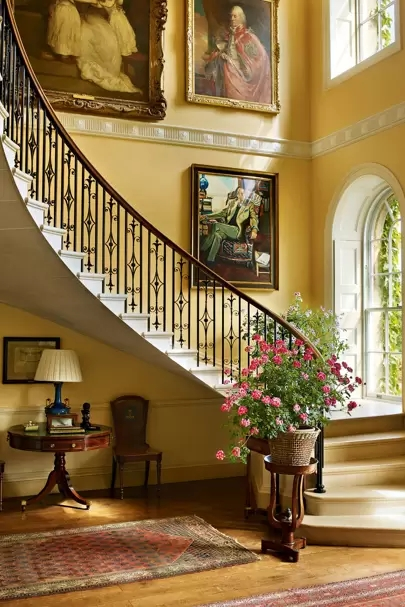 Staircase Ideas House Garden   Interior Steps Design For Hall   Entrance   Lobby Design   Realistic   Beautiful   Straight