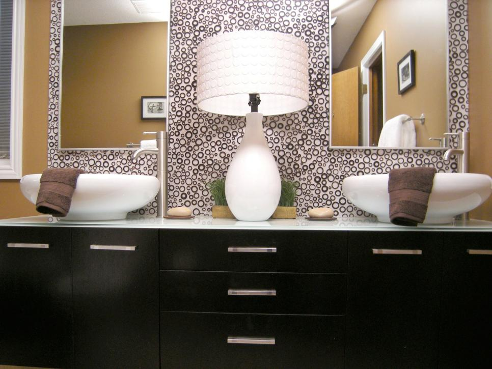 10 Beautiful Bathroom Mirrors   HGTV Shop This Look