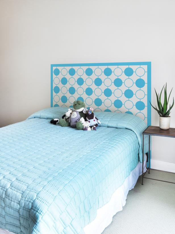 One of a Kind Kids  Headboard Ideas   HGTV Shop This Look