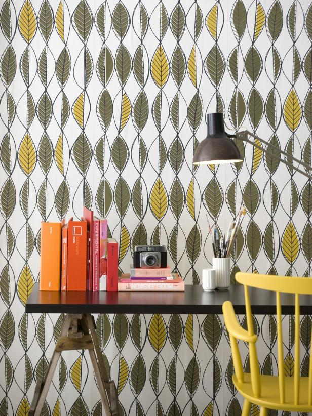 Best Online Sources for Wallpaper   HGTV s Decorating   Design Blog     Shop This Look