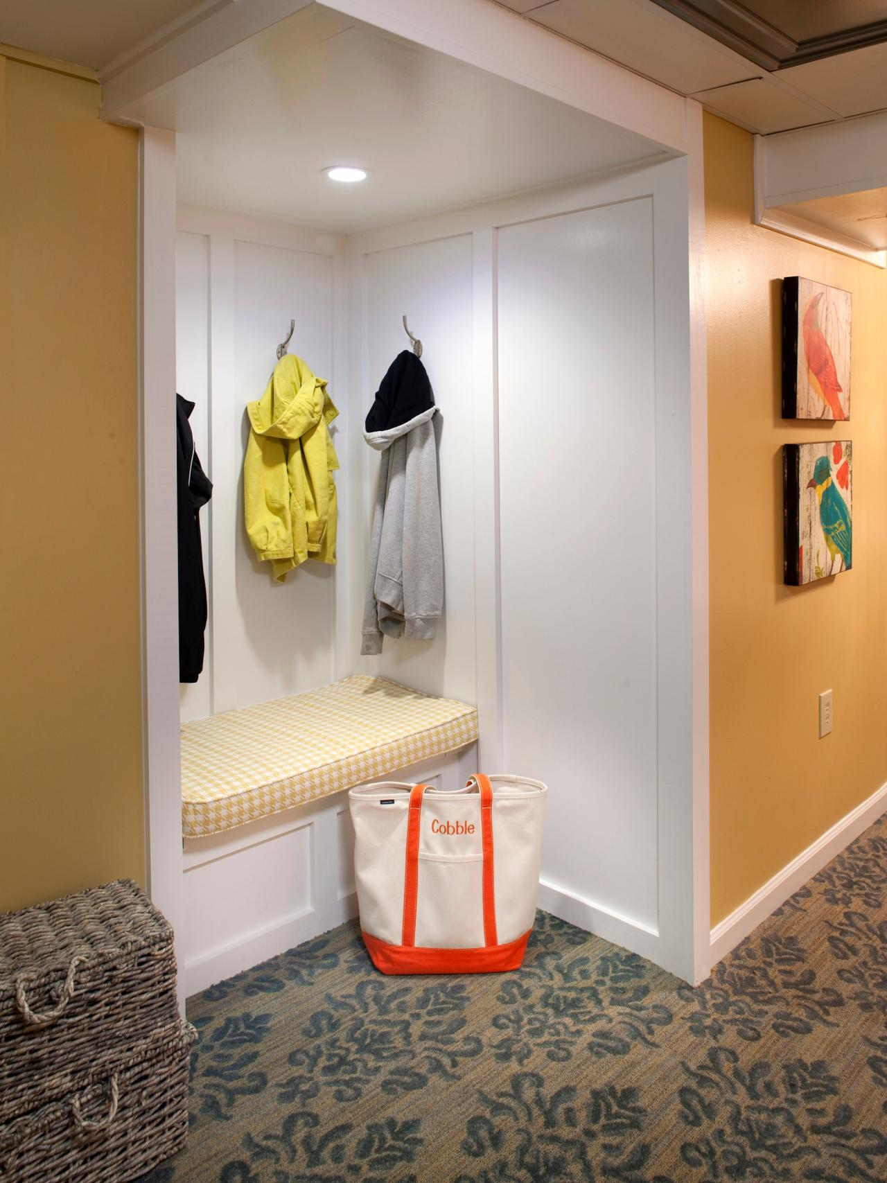 Mudroom Shoe Storage Pictures Options Tips And Ideas Hgtv