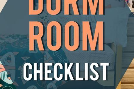 College Dorm Checklist  Don t Forget These Dorm Room Essentials     Dorm Room Checklist  Your Complete Guide to a Designer College Space  on a  Budget