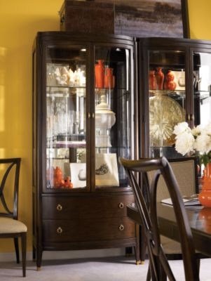 Bunching Curio Cabinet Dining Room Furniture