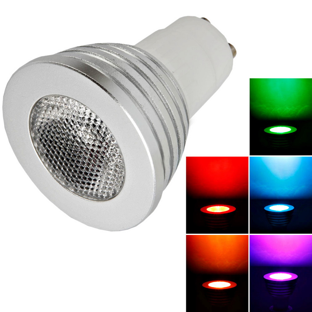 Remote Control Colour Changing Led Light Bulb