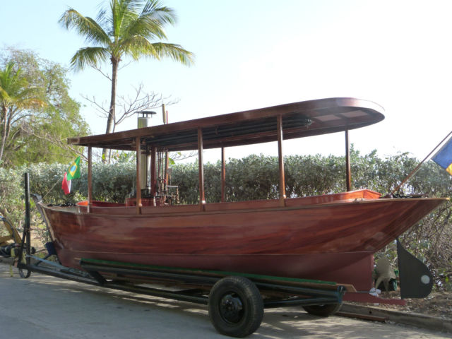 Steam Launch, Steam boat, Steam Engine - for sale