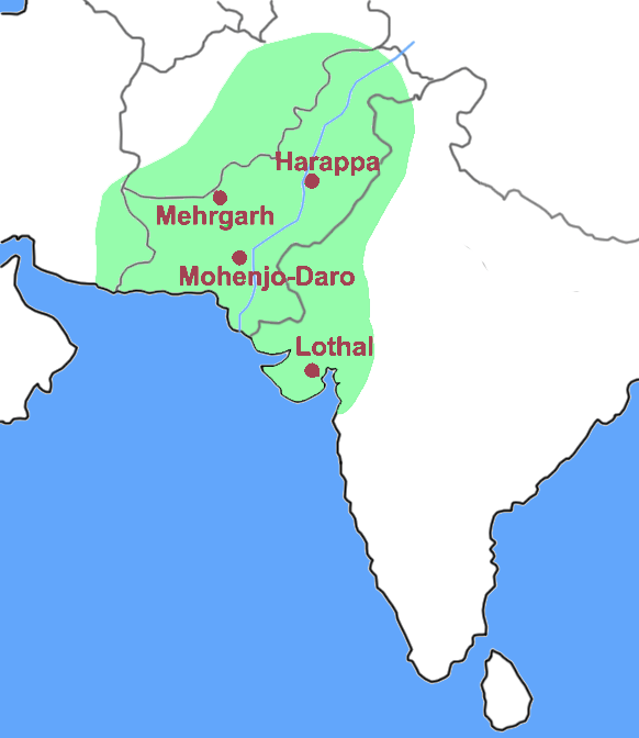 The Indus Valley Civilization -Harappa, Mohenjo Daro ...