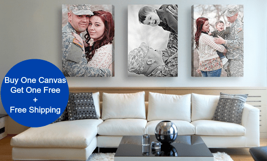 Easy Canvas Prints: Buy One Get One FREE on ALL Canvas ...