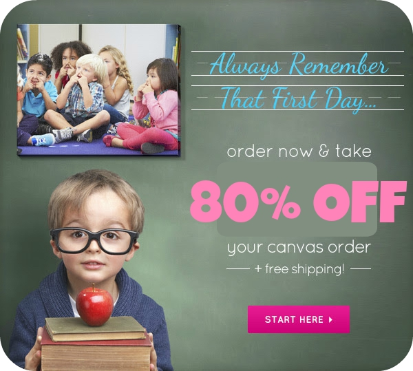 Easy Canvas Prints: 80% Off Sitewide + FREE Shipping ...