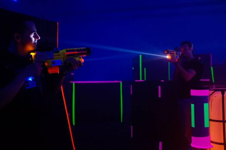 Үй ішінде Lasertag
