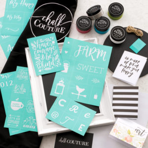 Try Diy Home Decor With Chalk Couture