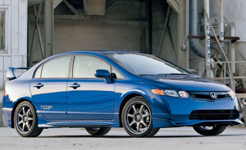 2008 Honda Civic Mugen Si Sedan Short Take Road Test Reviews Car And Driver