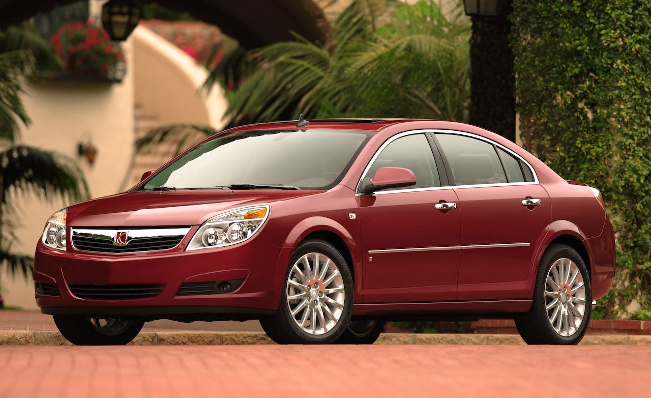 2008 Saturn Aura And Saturn Aura Green Line Review Reviews Car And Driver