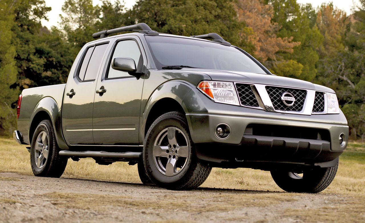 2008 Nissan Frontier Review Reviews Car And Driver