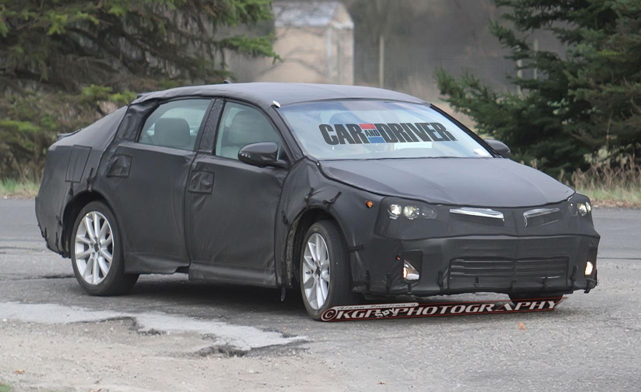 2013 Toyota Avalon Spy Photos Future Cars Car And Driver