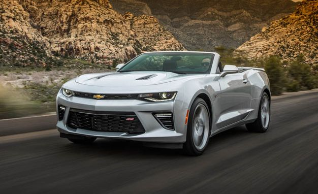 2016 Chevrolet Camaro Convertible First Drive | Review ...