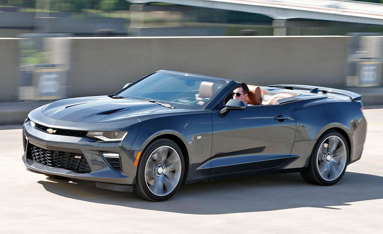 2016 Chevrolet Camaro SS Convertible Test | Review | Car ...