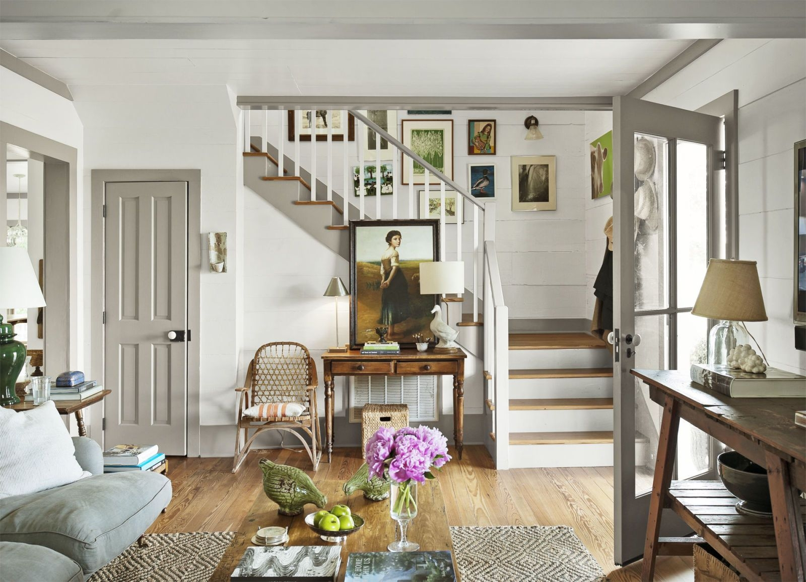 55 Best Staircase Ideas Top Ways To Decorate A Stairway | Living Room Stairs Design | Home | Classic House | Catalogue | White | Semi Circle House