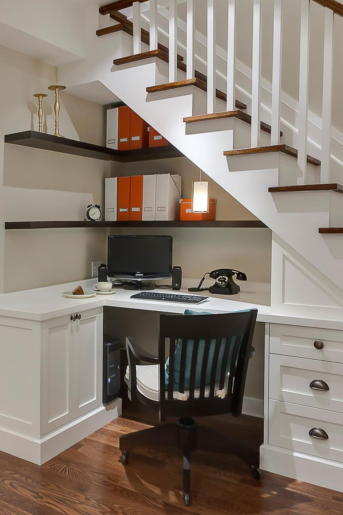 20 Best Under Stair Storage Ideas What To Do With Empty Space | Small Kitchen Design Under Stairs | Stair Storage | Dining Room | Basement Kitchenette | Space Saving | Small Spaces
