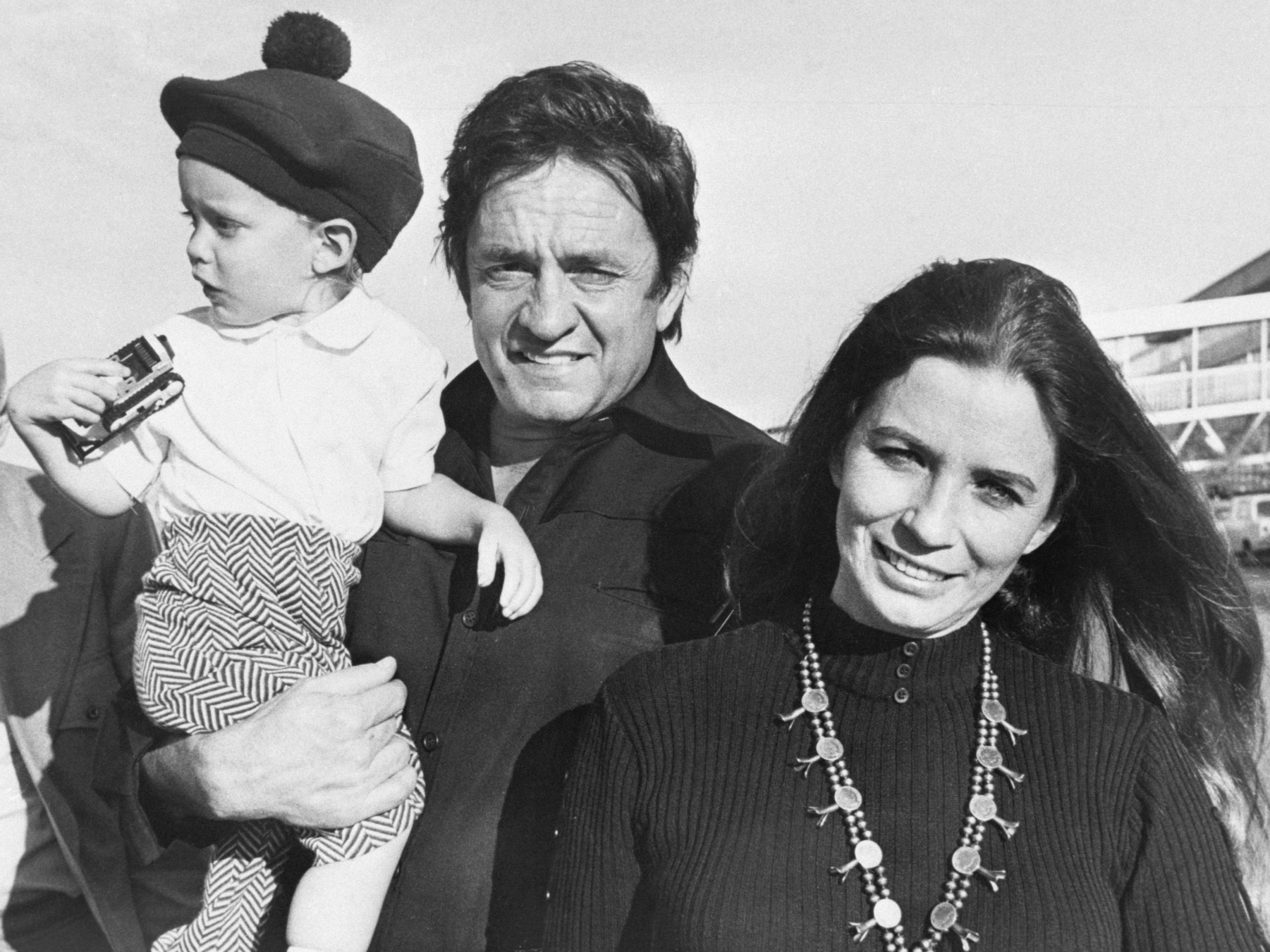 Johnny Cash First Wife Family Pictures