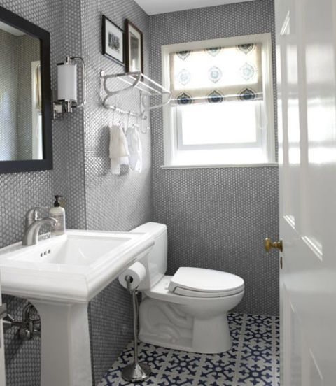 11 Bathroom Makeovers   Pictures and Ideas for Bathroom Makeovers gray bathroom