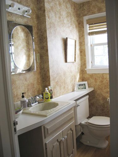 11 Bathroom Makeovers   Pictures and Ideas for Bathroom Makeovers old bathroom