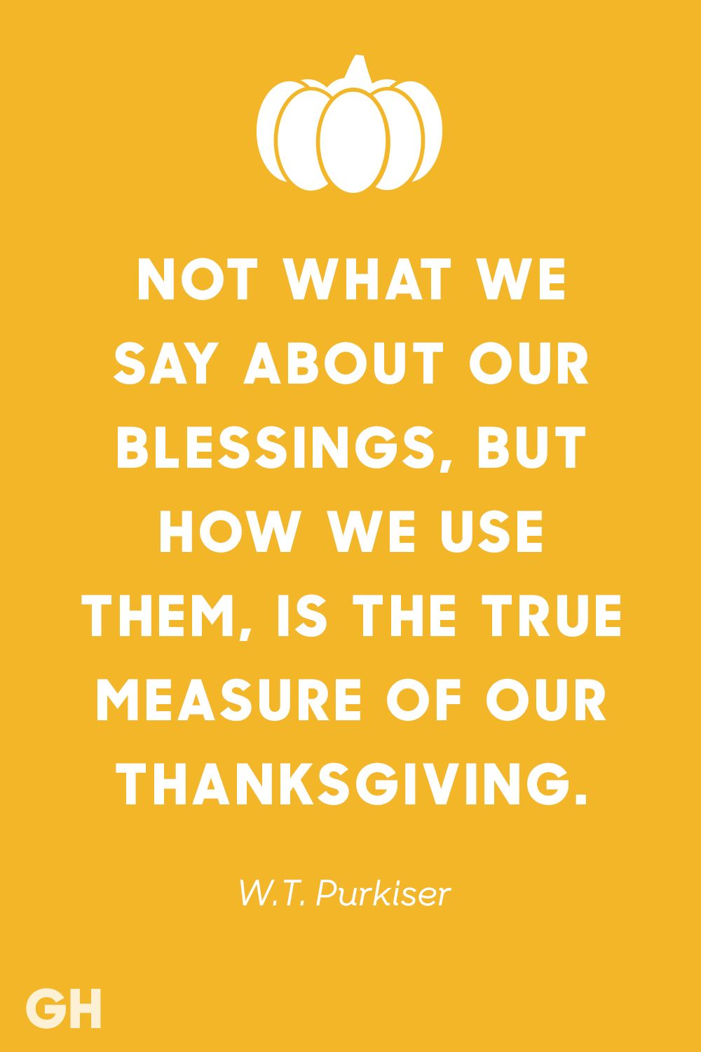 About How Blessings Our True Our Use Thank Not We Say We What Measure Them