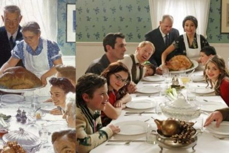 norman rockwell thanksgiving modern family 4k pictures 4k
