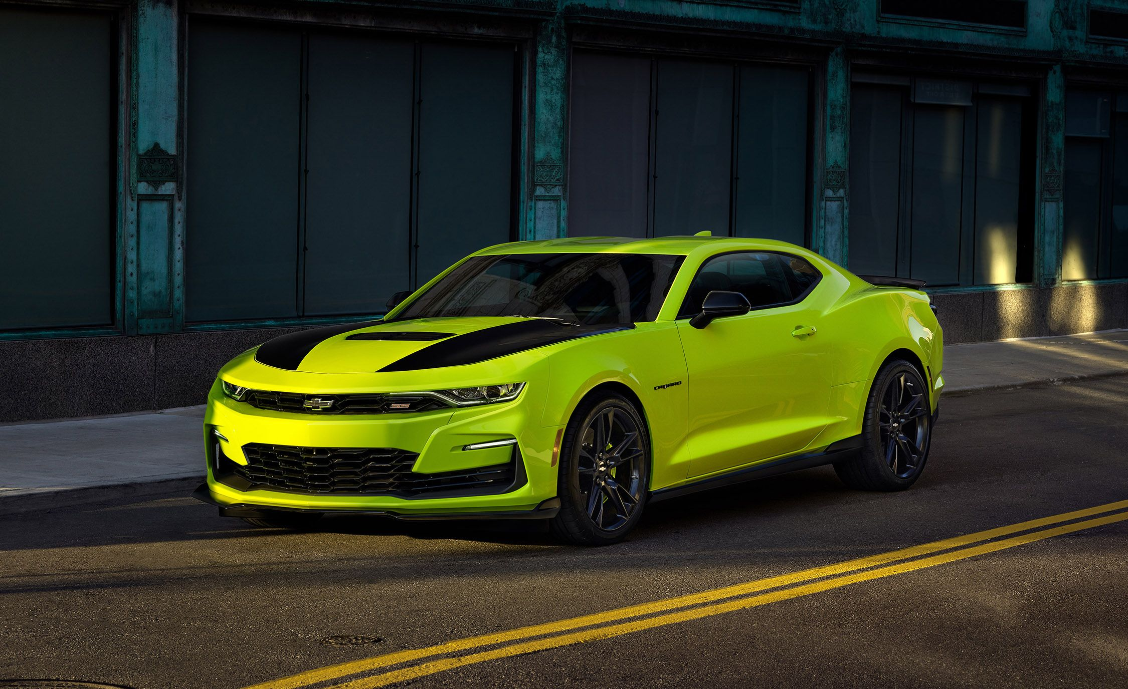 2019 Chevrolet Camaro Adds Extreme Yellow Color Preview