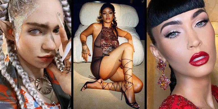 7 Halloween Celebrity Beauty Looks to Try From Rihanna to Megan Fox