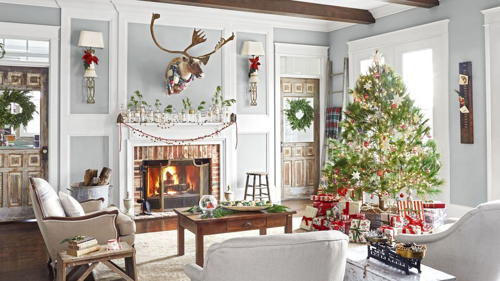 110 Country Christmas Decorations   Holiday Decorating Ideas 2018 christmas decorating ideas