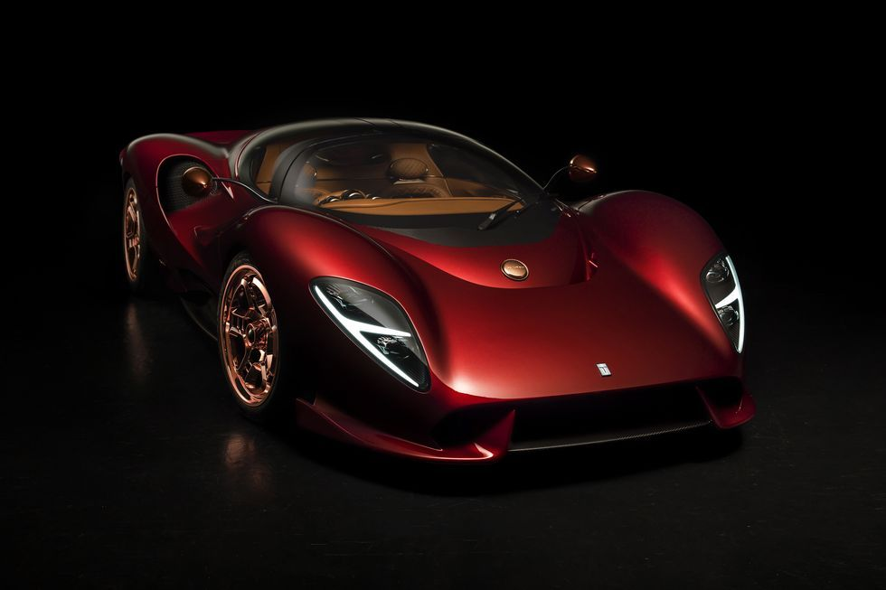 De Tomaso Is Back With A Gorgeous New Stick Shift Supercar