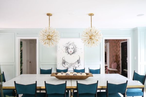 pendant lighting over dining room table # 9