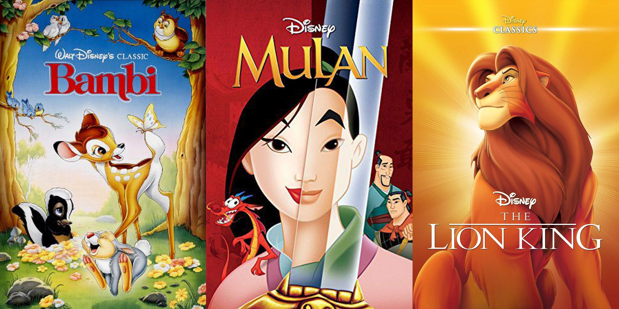 20 Best Disney Movies - Top Animated Disney Films of All Time