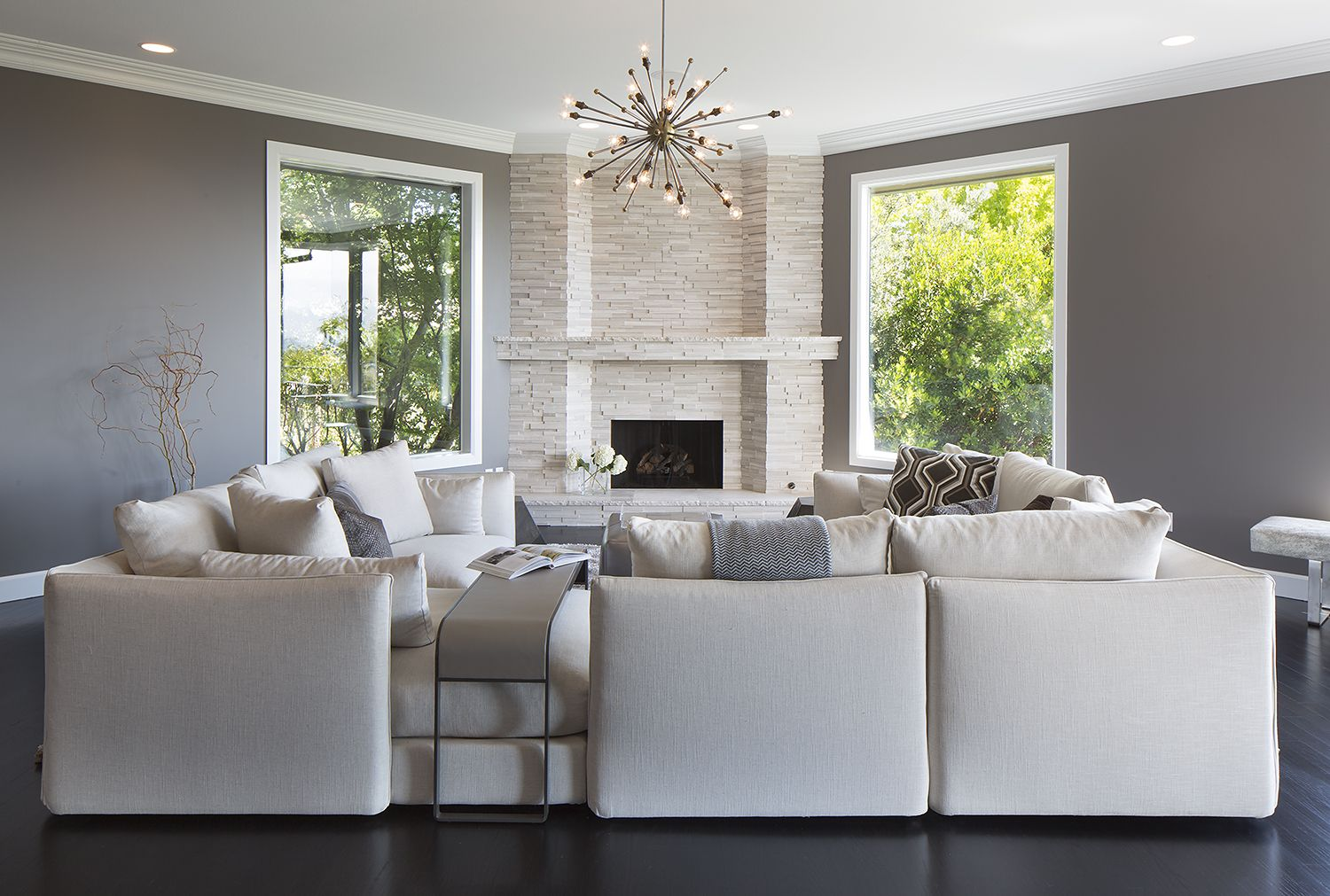 Sectional Sofa Set Up For Small Living