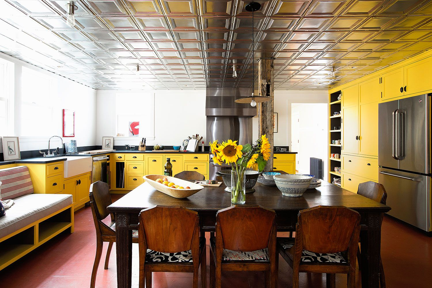 21 Yellow Kitchen Ideas   Decorating Tips for Yellow Colored Kitchens yellow kitchens